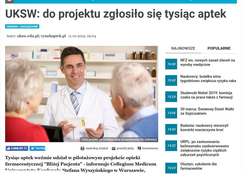 PIKTOREX - kompleksowe rozwiązania w zakresie opieki farmaceutycznej